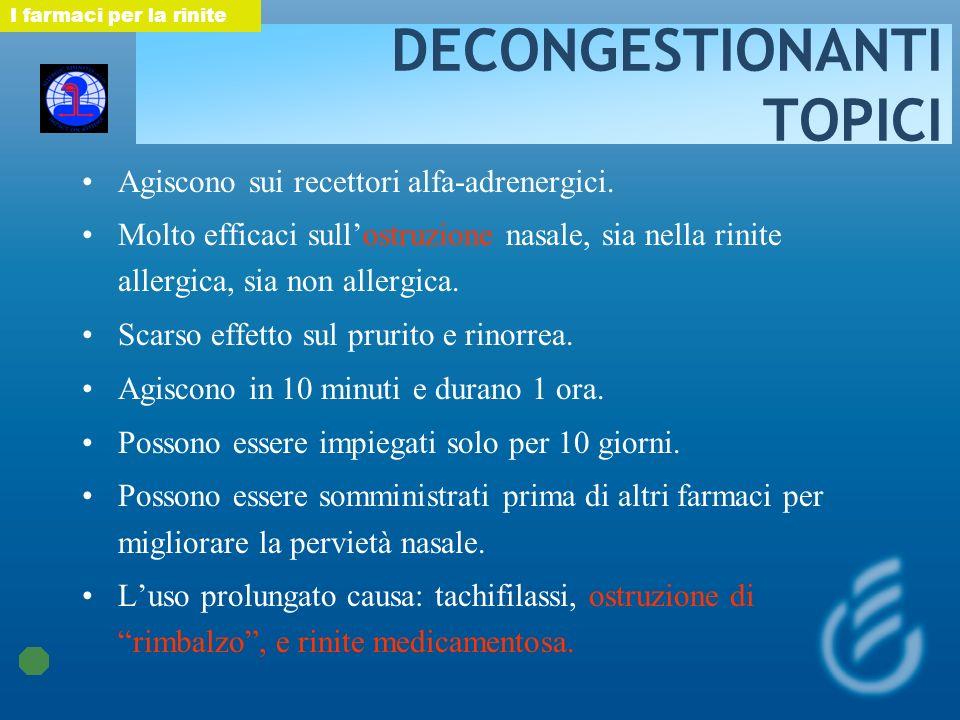 DECONGESTIONANTI TOPICI