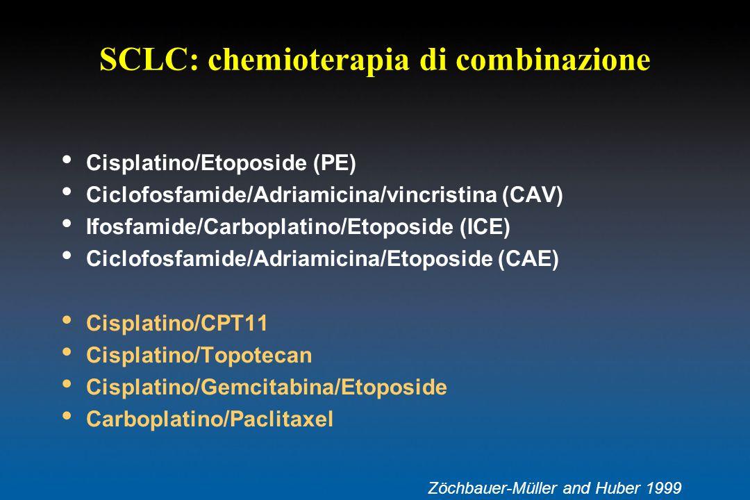 SCLC: chemioterapia di combinazione