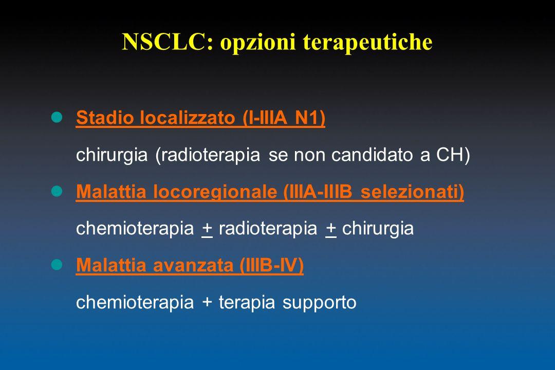 NSCLC: opzioni terapeutiche