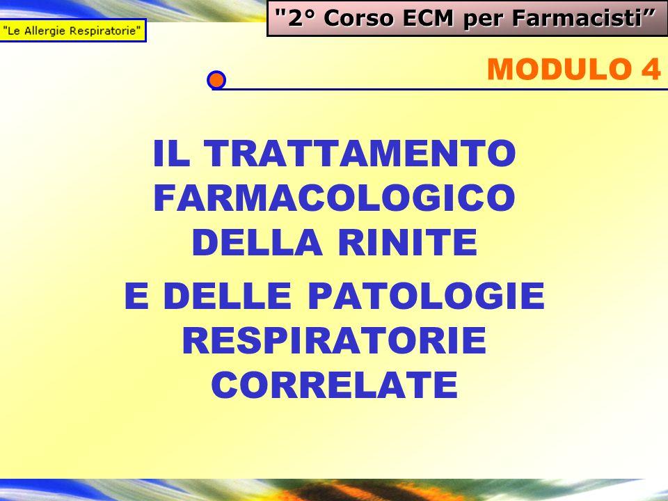 IL TRATTAMENTO FARMACOLOGICO DELLA RINITE