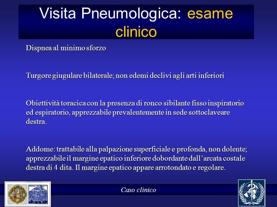 Visita Pneumologica: esame clinico