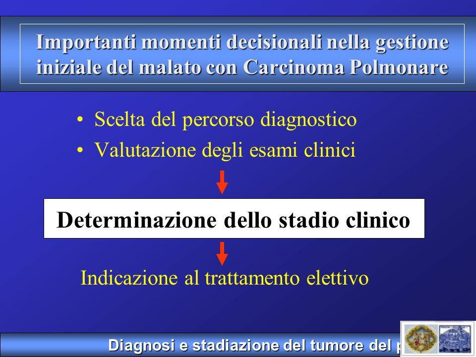 Determinazione dello stadio clinico