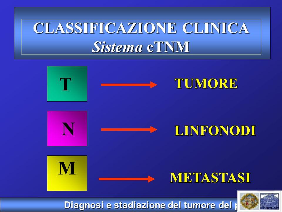 CLASSIFICAZIONE CLINICA Sistema cTNM
