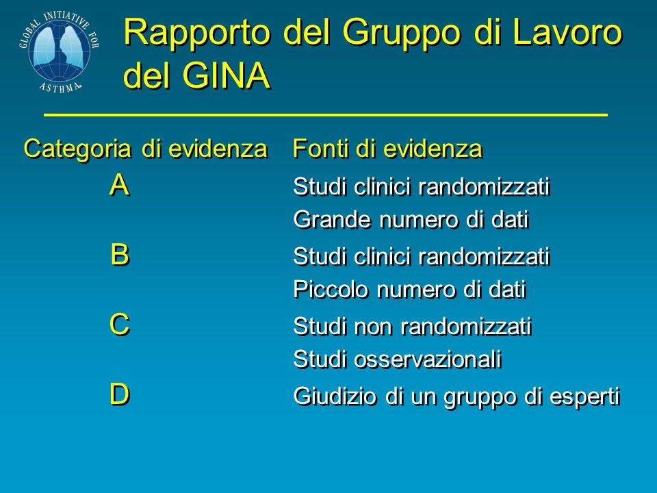 Rapporto del Gruppo di Lavoro del GINA