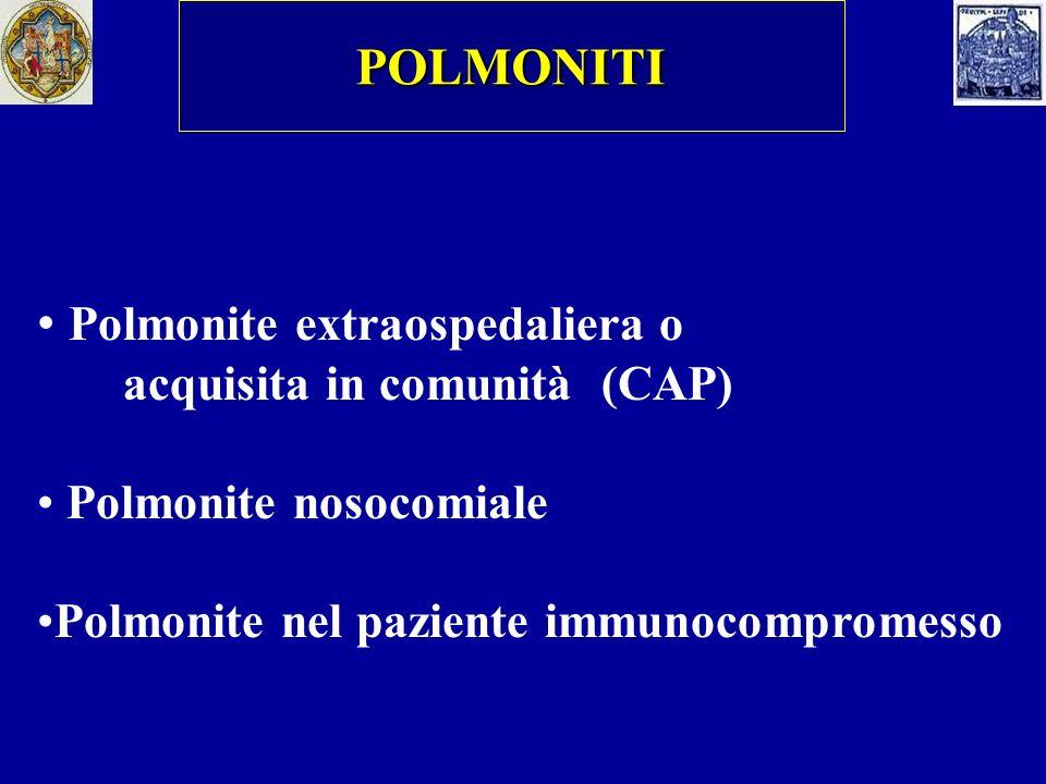 Polmonite extraospedaliera o