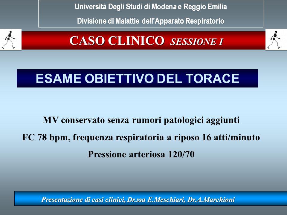 CASO CLINICO SESSIONE I