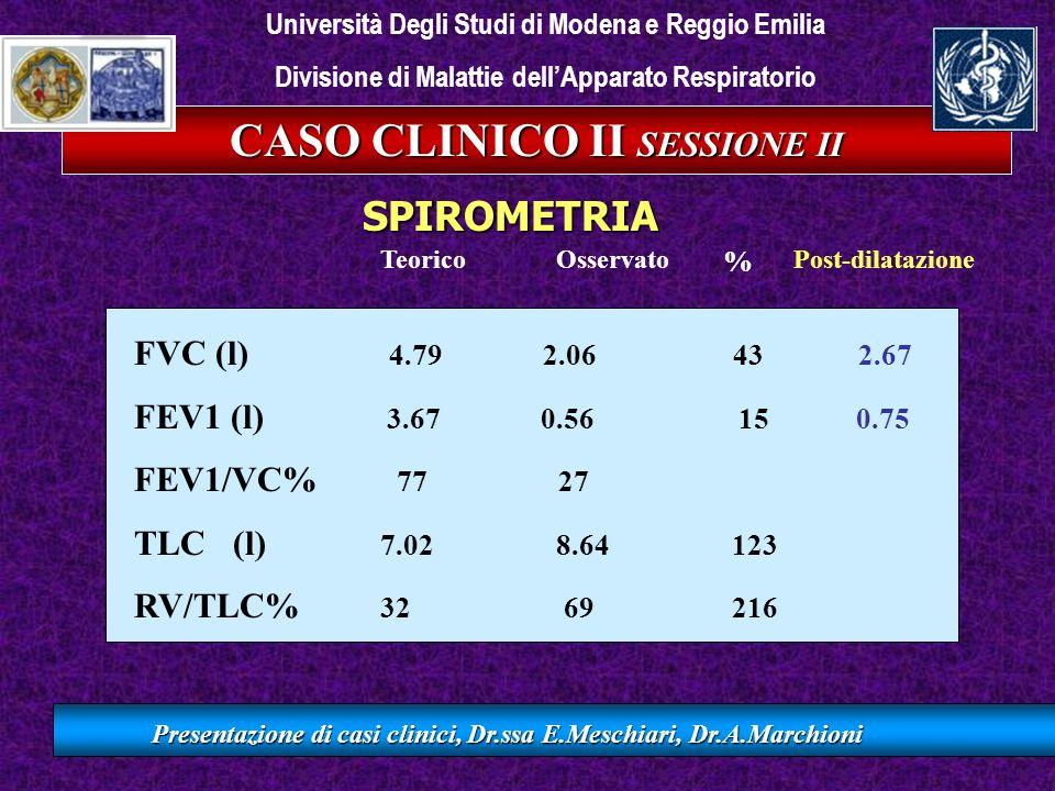 CASO CLINICO II SESSIONE II