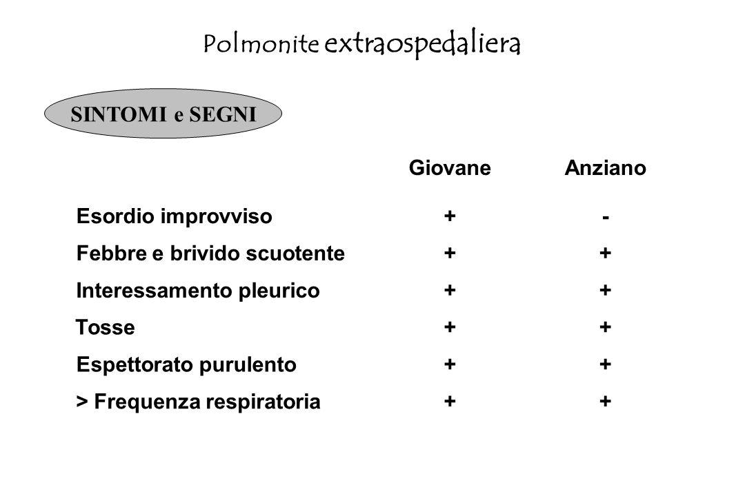 Polmonite extraospedaliera