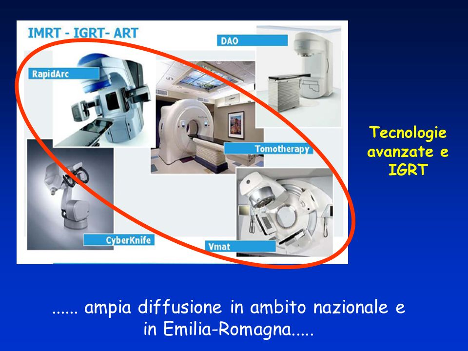 Tecnologie avanzate e IGRT