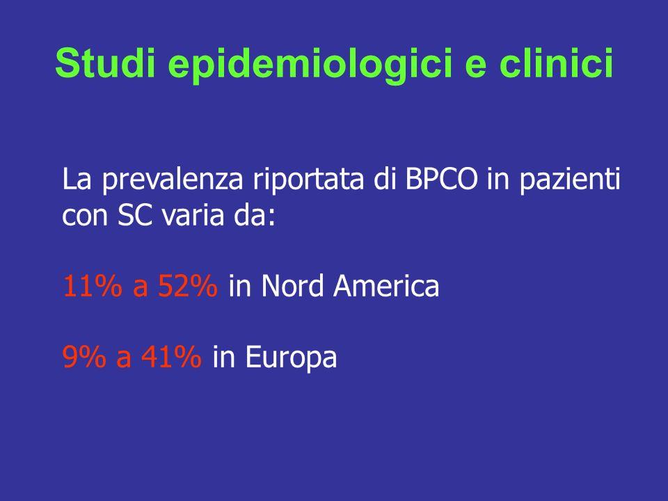 Studi epidemiologici e clinici