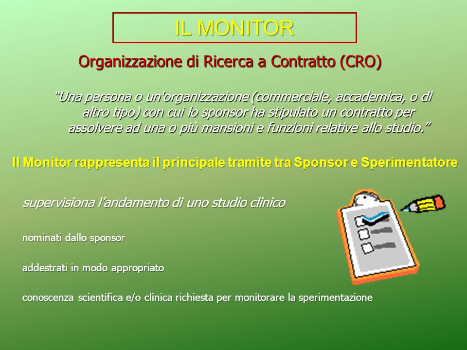 Organizzazione di Ricerca a Contratto (CRO)