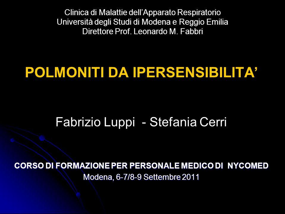 CORSO DI FORMAZIONE PER PERSONALE MEDICO DI NYCOMED