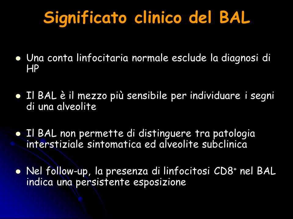 Significato clinico del BAL