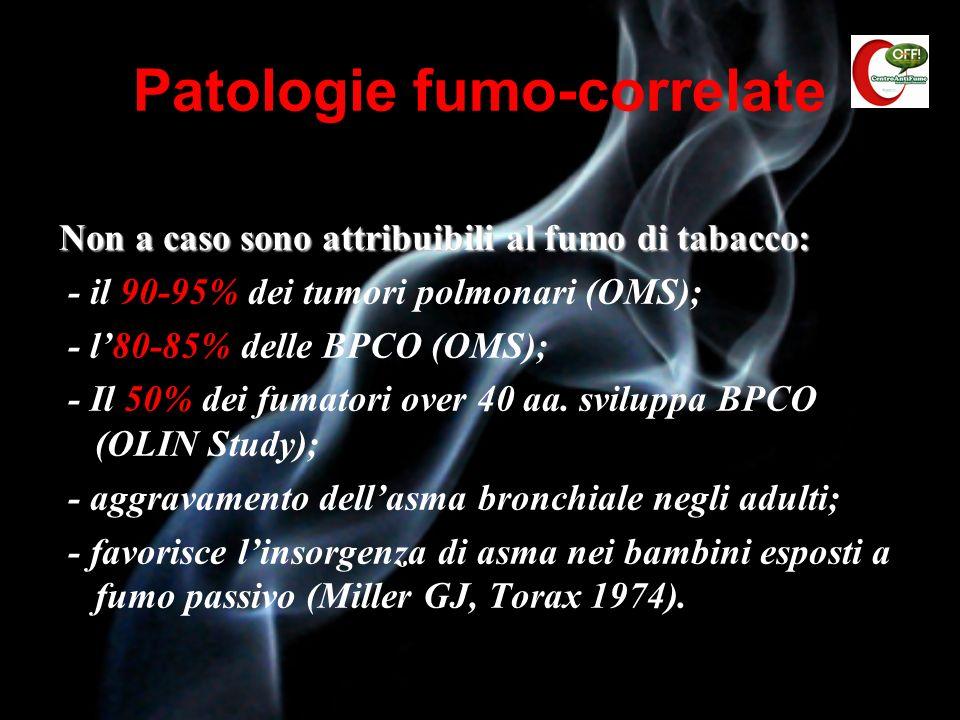 Patologie fumo-correlate
