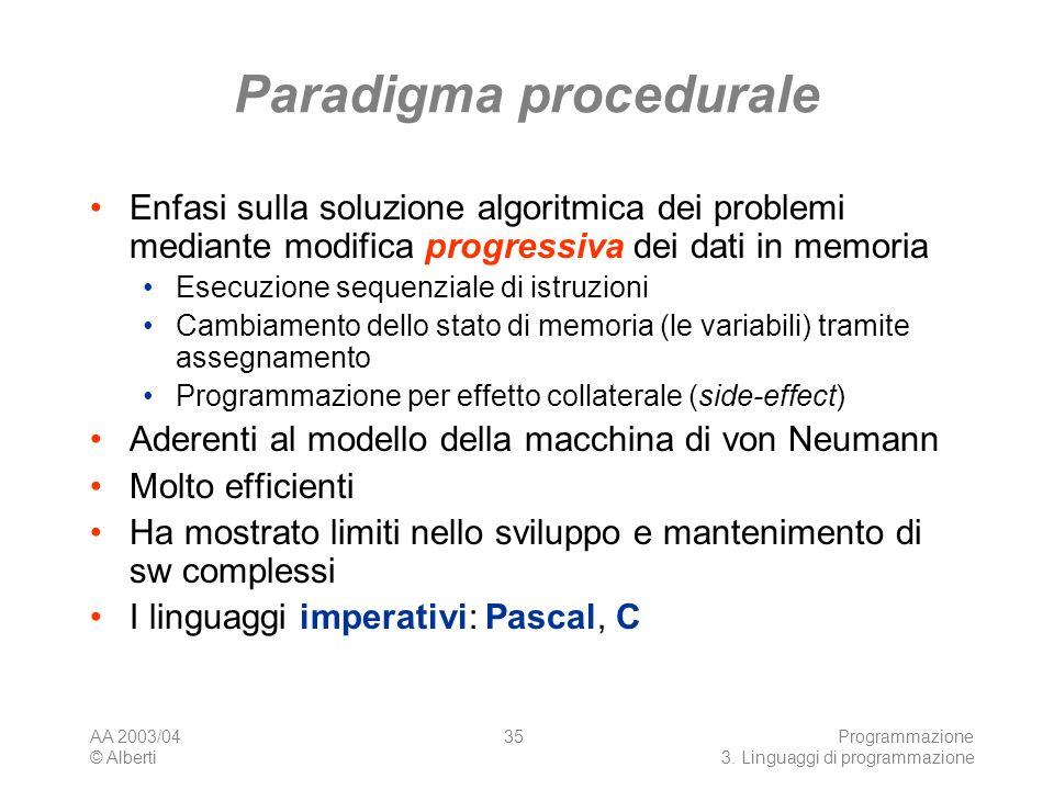 Paradigma procedurale