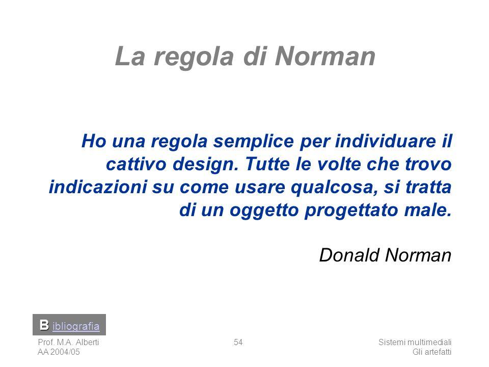 La regola di Norman