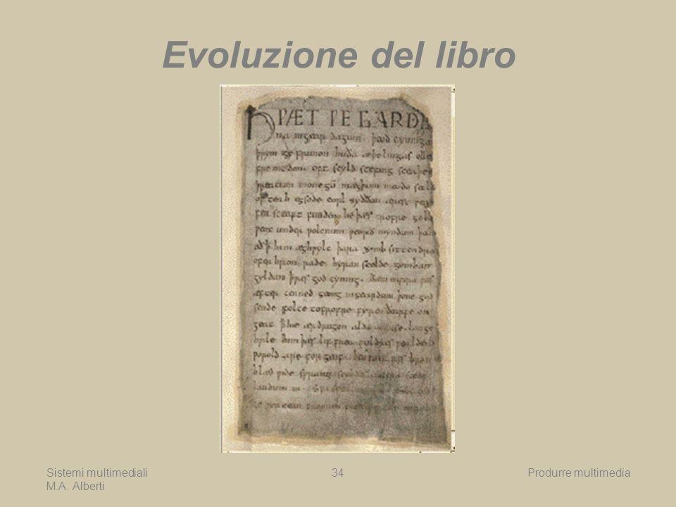 Evoluzione del libro