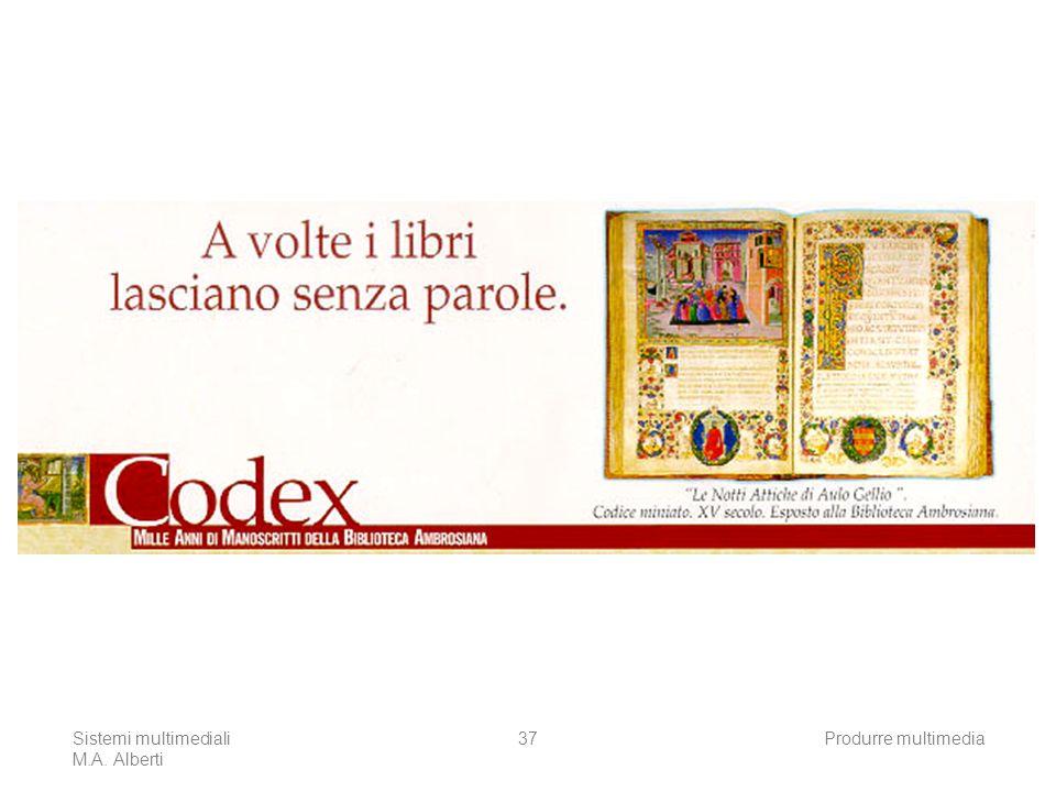 Il manifesto della mostra Codex dell'Ambrosiana 2000