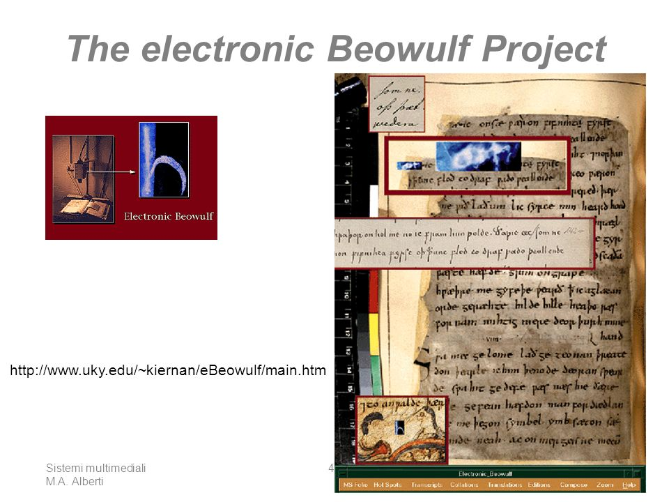 The electronic Beowulf Project