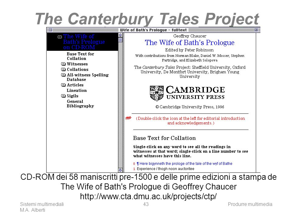The Canterbury Tales Project