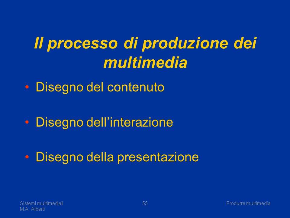 Il processo di produzione dei multimedia