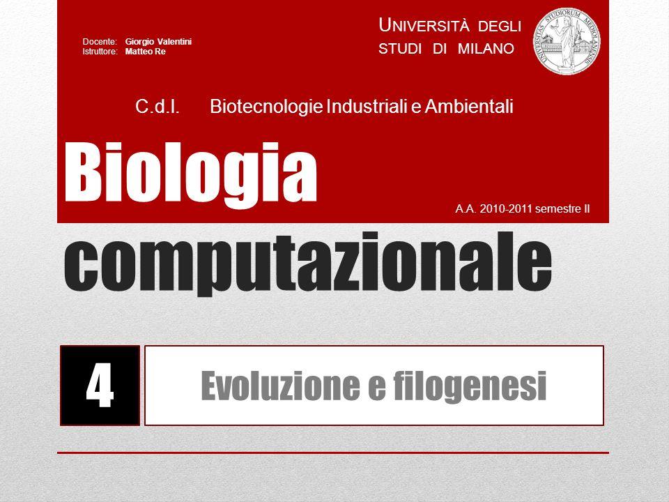 Biologia computazionale