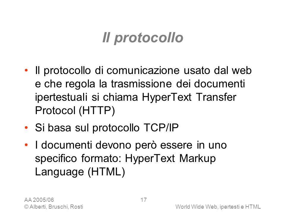 Il protocollo