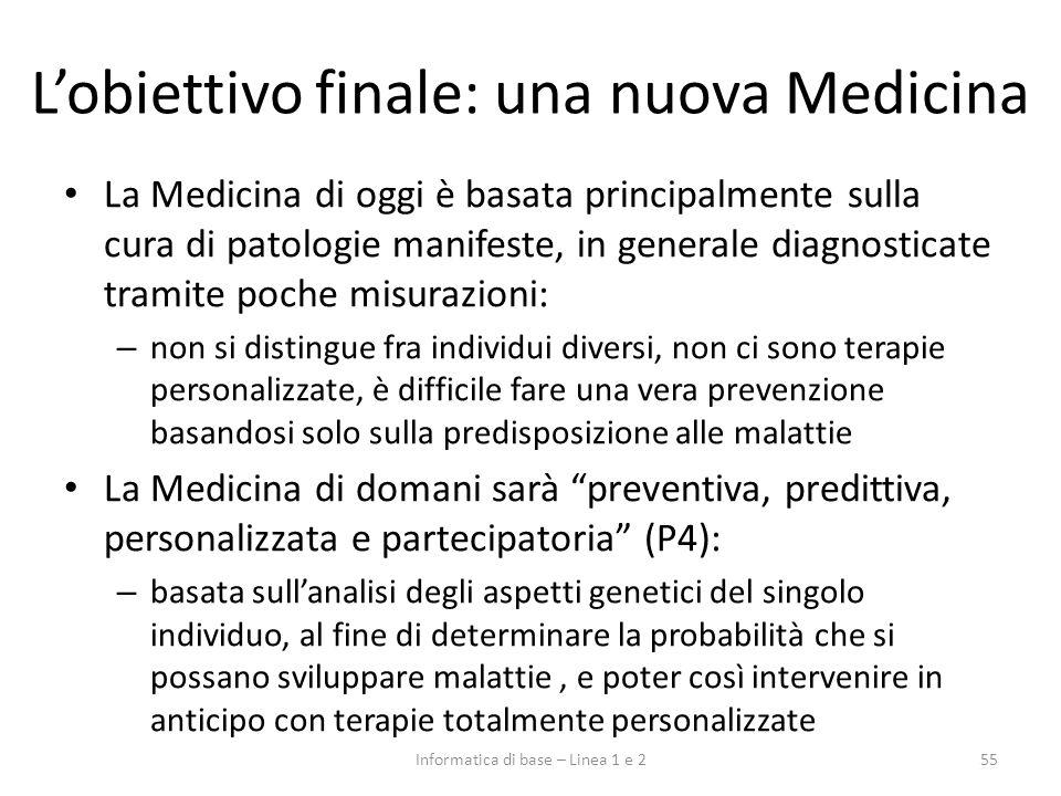 L'obiettivo finale: una nuova Medicina