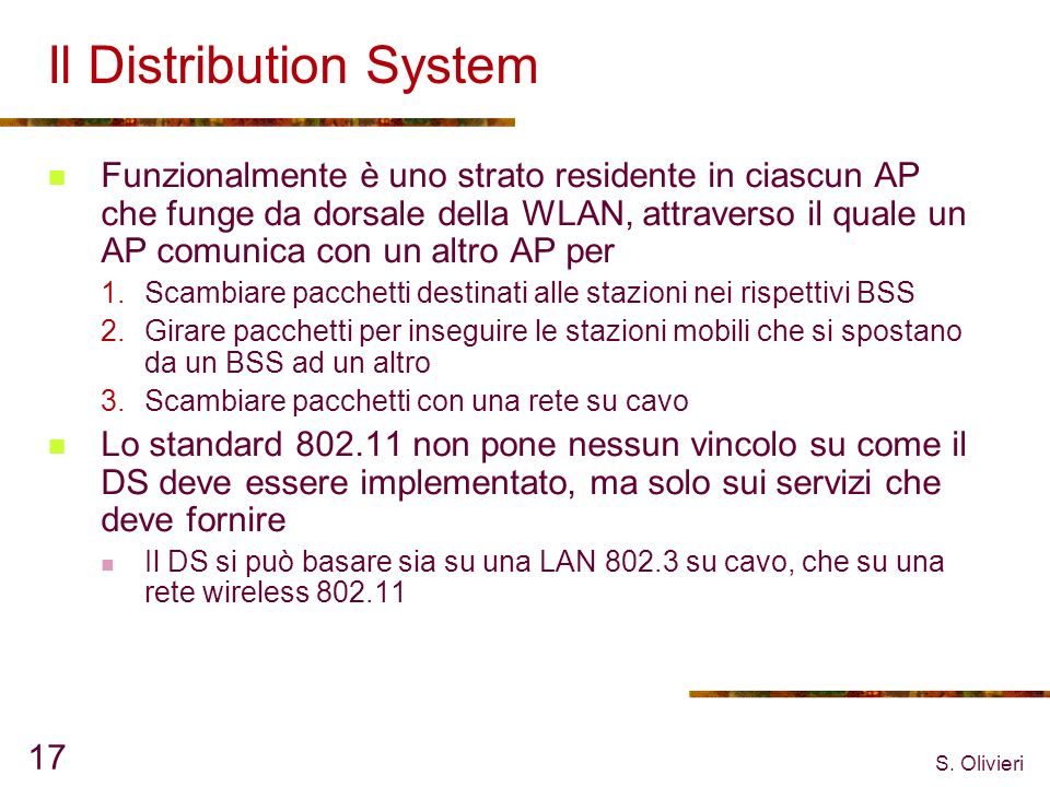 Il Distribution System