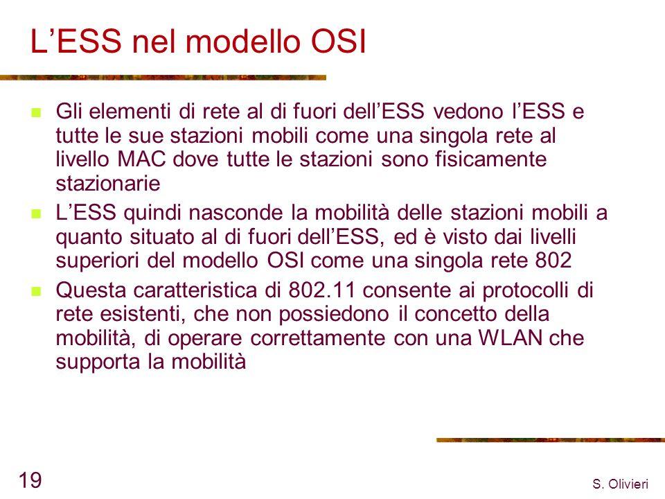 L'ESS nel modello OSI