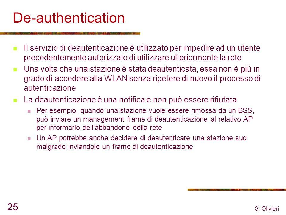 De-authentication