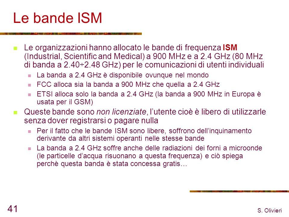 Le bande ISM