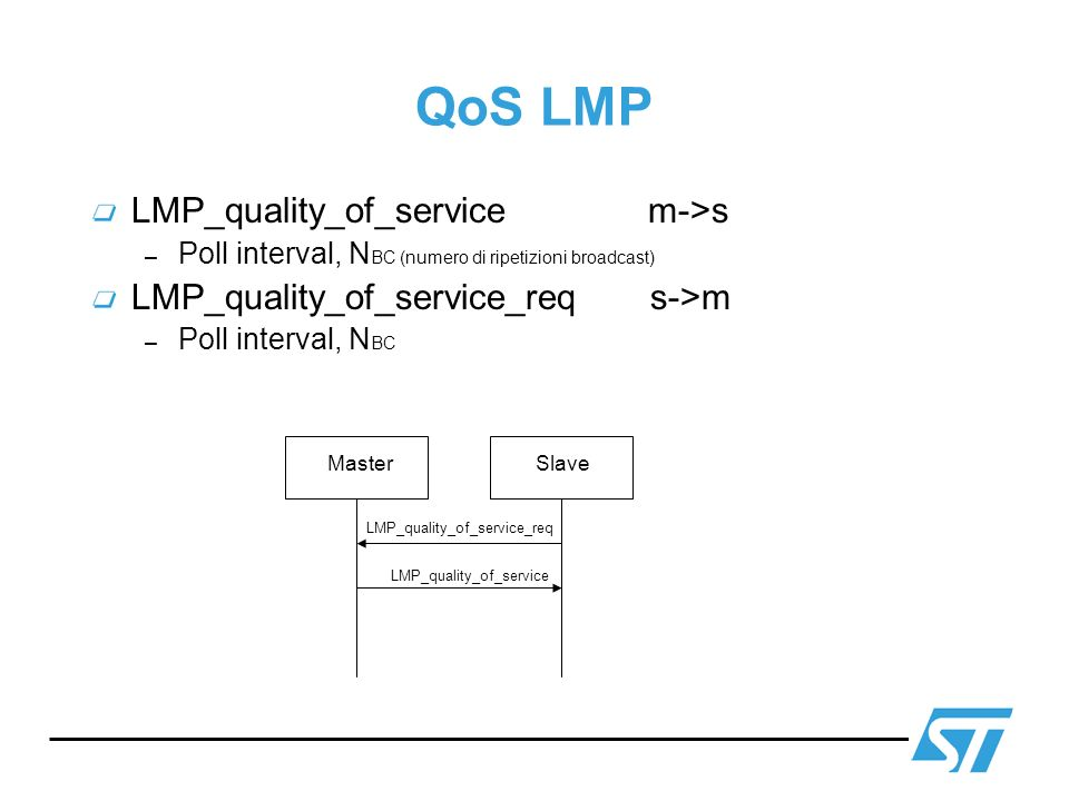 QoS LMP LMP_quality_of_service m->s