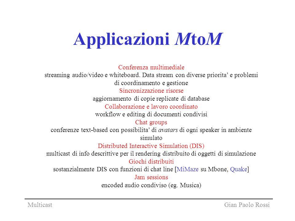 Applicazioni MtoM Conferenza multimediale