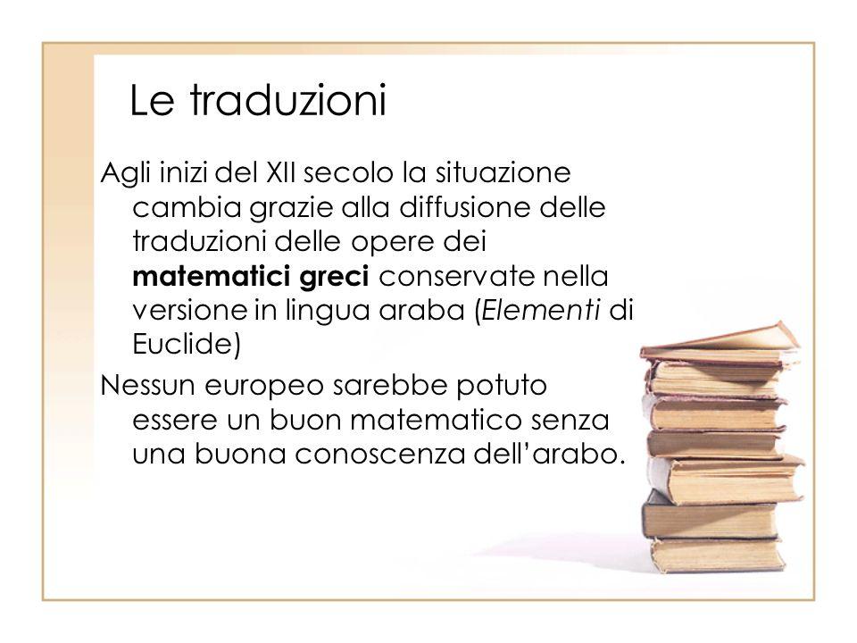 Le traduzioni