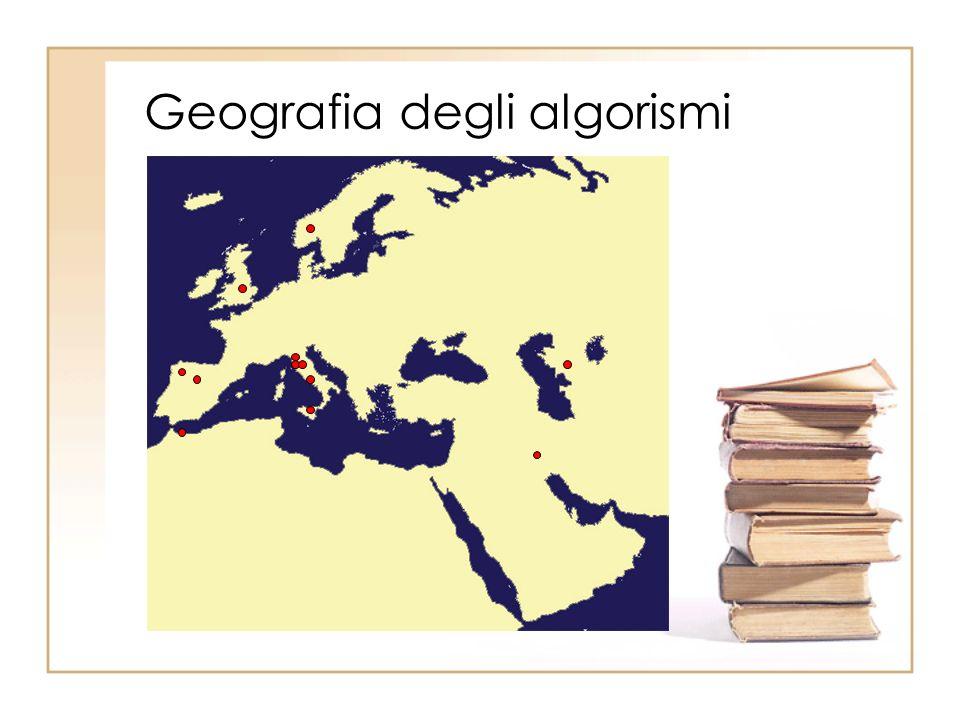 Geografia degli algorismi
