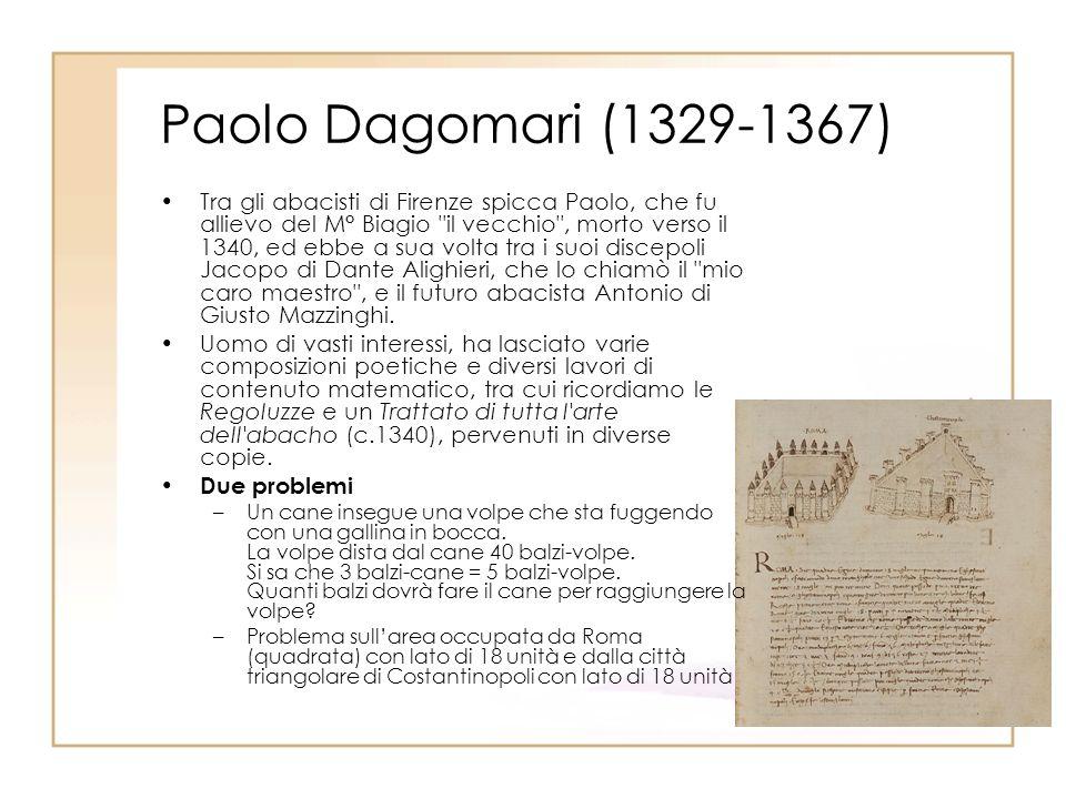 Paolo Dagomari (1329-1367)