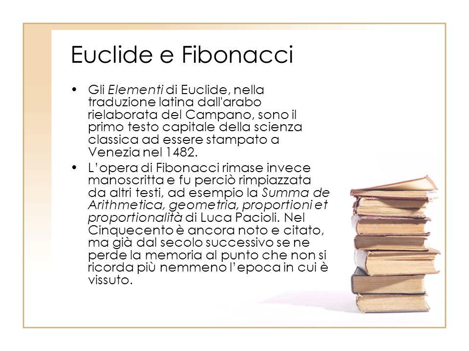 Euclide e Fibonacci