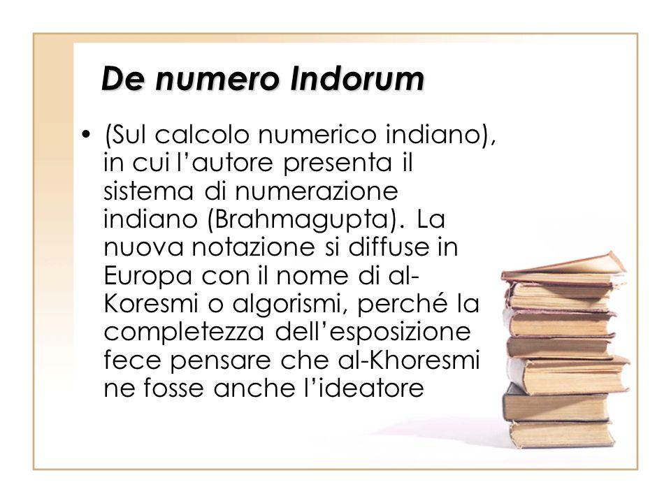 De numero Indorum
