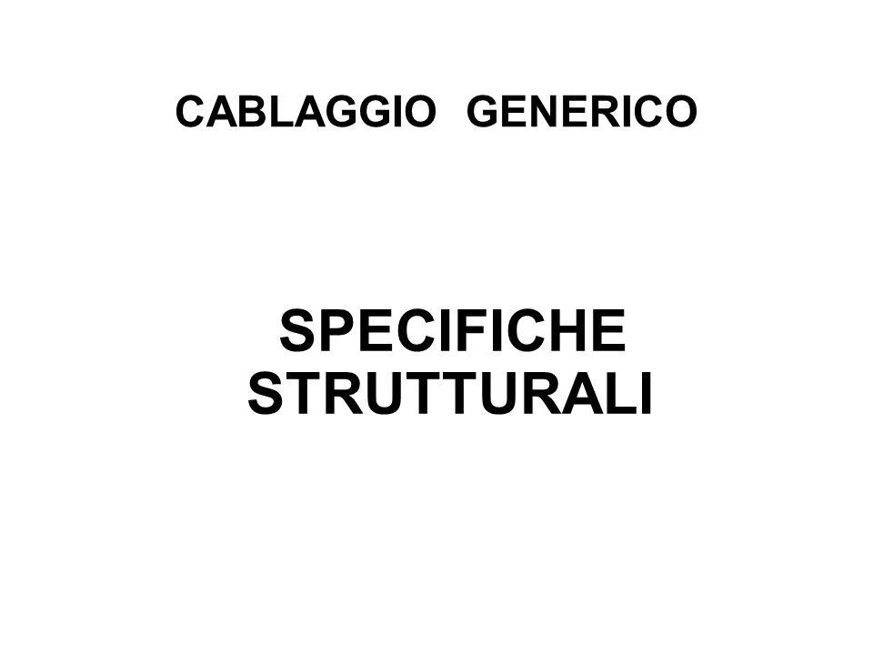 SPECIFICHE STRUTTURALI