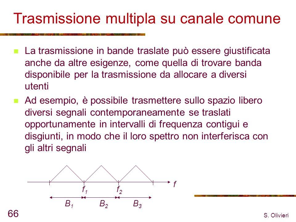 Trasmissione multipla su canale comune
