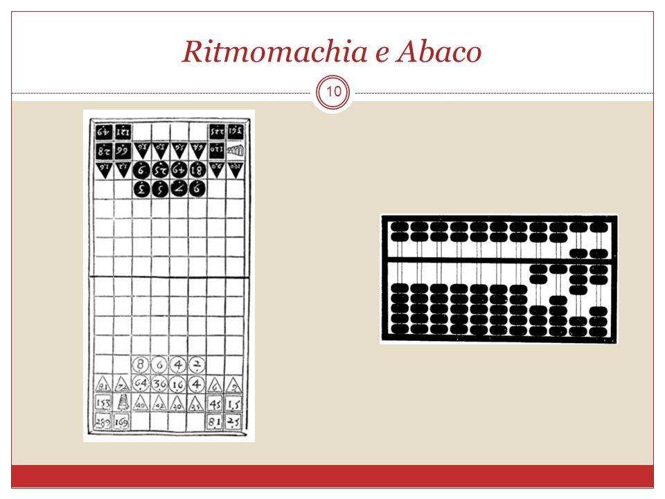 Ritmomachia e Abaco