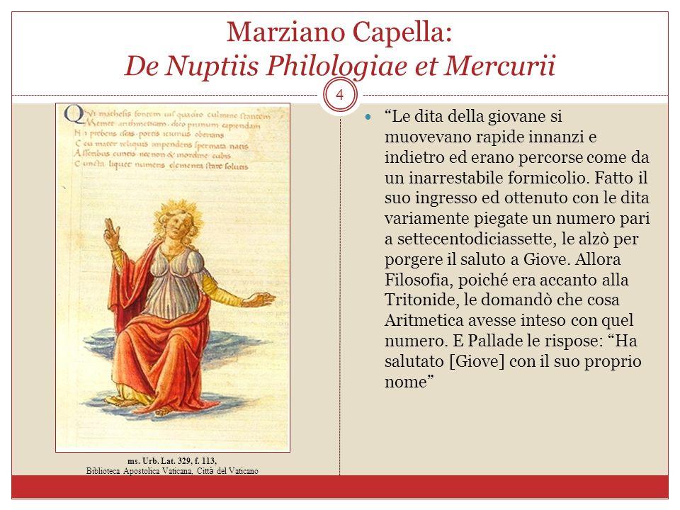 Marziano Capella: De Nuptiis Philologiae et Mercurii