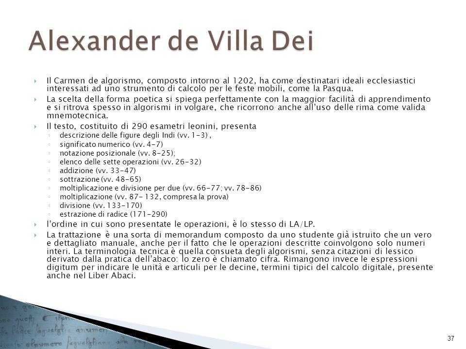 Alexander de Villa Dei