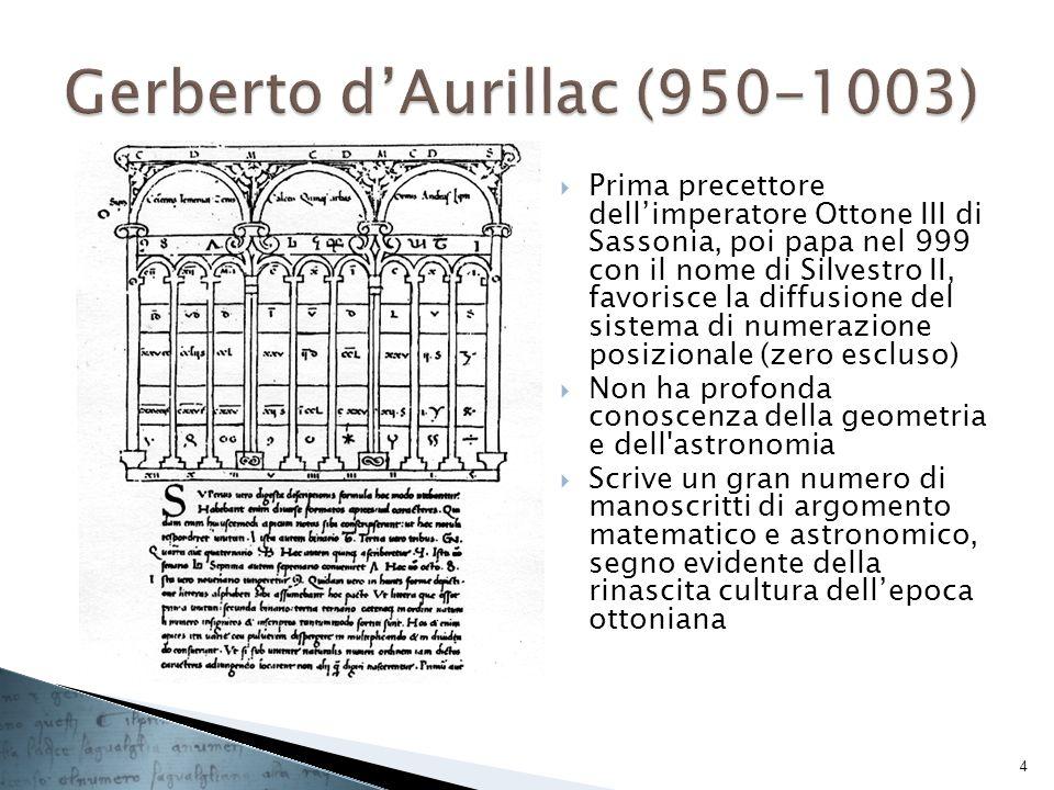 Gerberto d'Aurillac (950-1003)