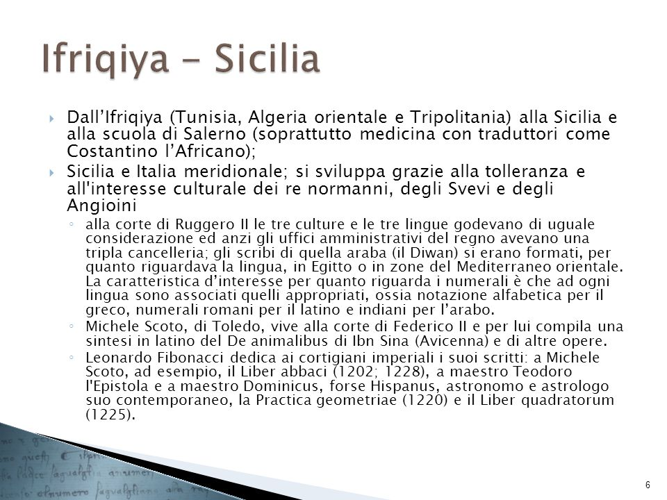 Ifriqiya - Sicilia