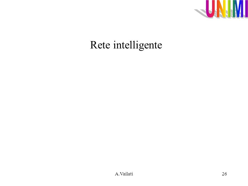 Rete intelligente A.Vailati