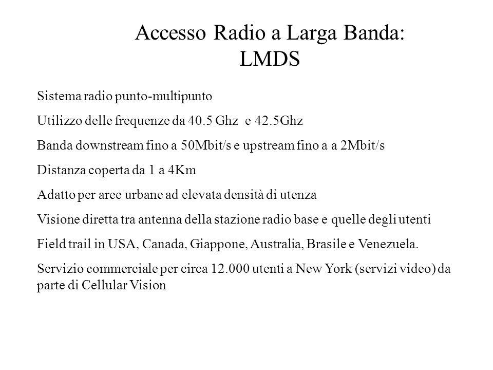 Accesso Radio a Larga Banda: LMDS