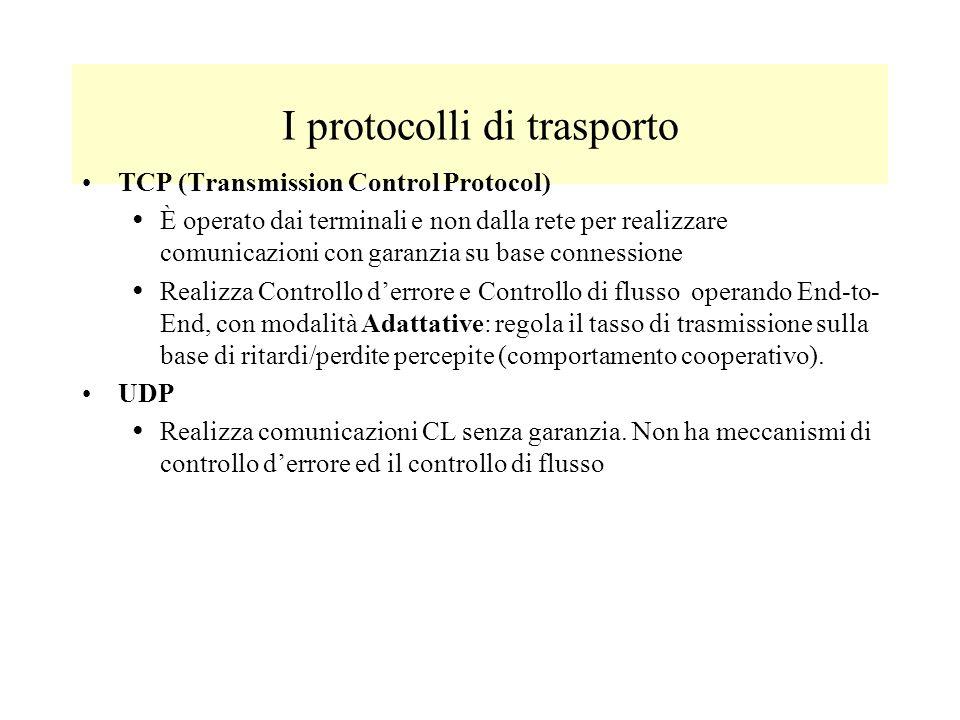 I protocolli di trasporto