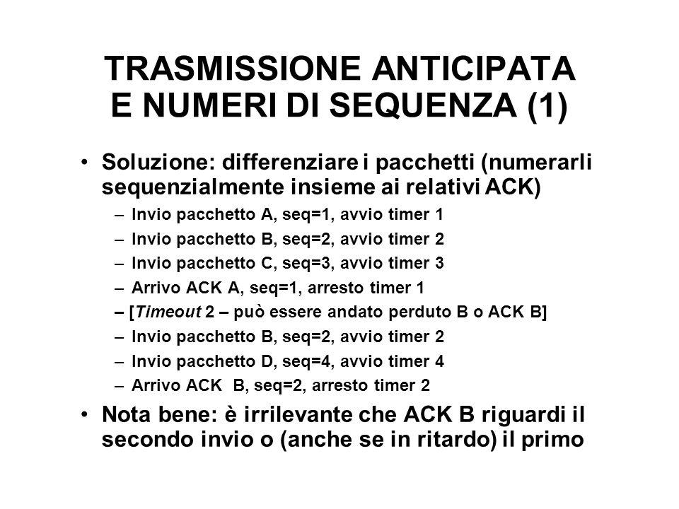 TRASMISSIONE ANTICIPATA E NUMERI DI SEQUENZA (1)